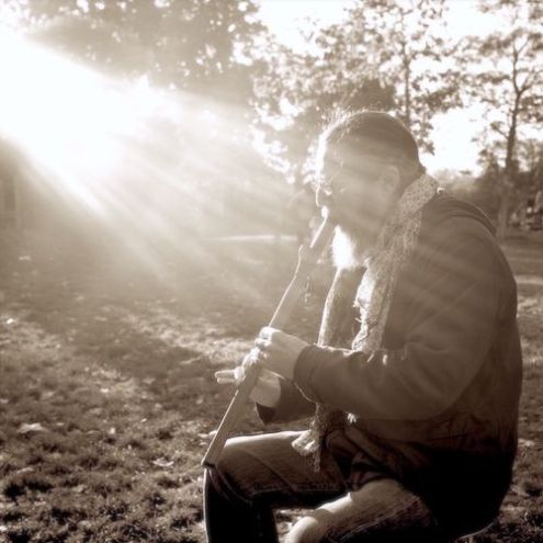 🎶 Transforming the breath into healing sound vibrations, HEDI FLUTEMAN cured himself from lung cancer over 7 years ago by playing the flute ! Hedi lets the flute lead the way ! He plays for those who listen !