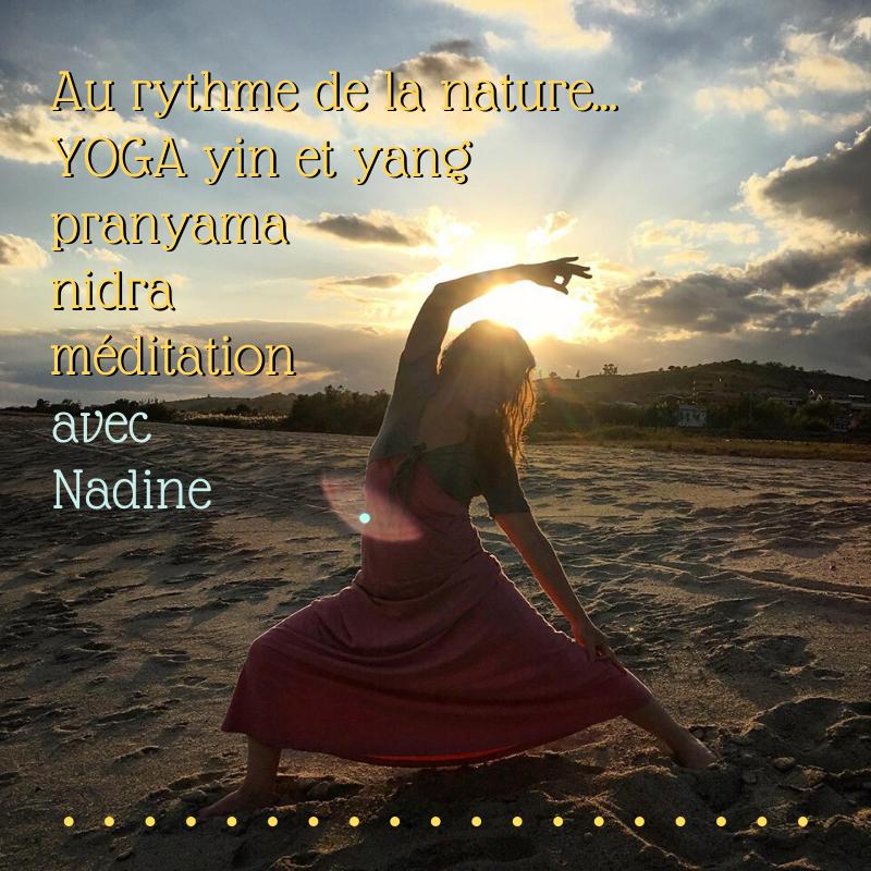 """Une programme (àtous âges et tous niveaux)intégrale avec le pratique de Yoga VInyasa """"Flow Arts"""" fortifianteainsi que le pranayama, thérapie yin, nïdra etméditation pour se restaurer et trouvez vos ZEN !"""