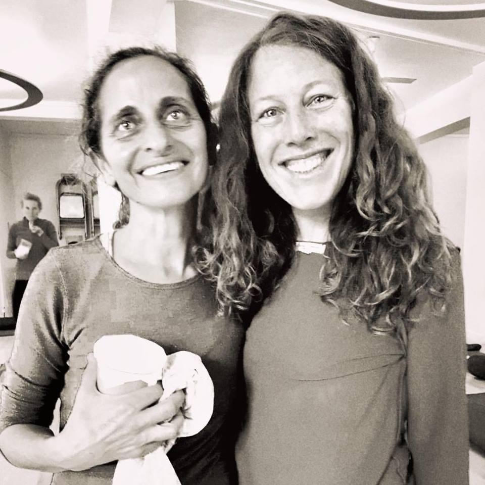 "IN memory Jai guru Maty Ezraty ki Jai!  1964 - 2019 | Matyji knew just how to call upon my inner FAIRY FORCE, re-structure my fallen angel woes, from the inside out, she taught me amongst so many things how to unfurrow my wings and ""magnificently OPEN"", Matyji, my guardian angel, my guruji, beloved dear friend & soul sista, spread her WINGS towards Freedom beyond,... at the moment my heart weighs heavy with my wings immersed in salty liquid flow, that part of letting go, but I SOAR with her always grounded deeply embedded within heart & soul, welcoming, sharing the spacious expansive eternal shine wisdom glow !"