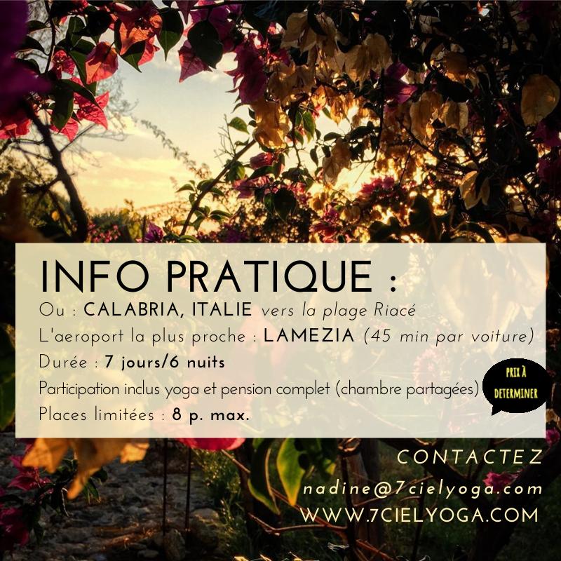 INFO Pratique : L'aéroport la plus proche à LAMEZIA Thermes (45 min en voiture) Contacter NADINE pour l'info des ITINERAIRES