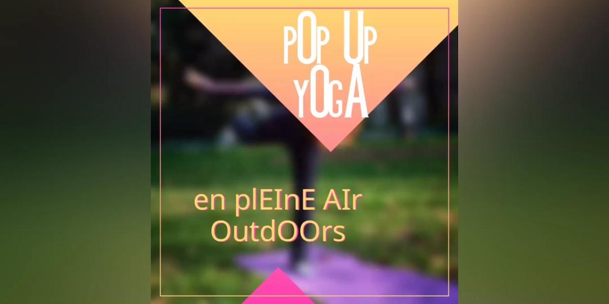 "Weather Permitting ""pOp Up yOgA OutdOOrsin the pArk"" -  If not at Septièmeciel YogaMontmartre"