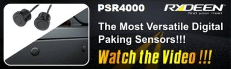 PSR4000 - The Most Versatile DIGITAL Parking Sensors - November 2019 1