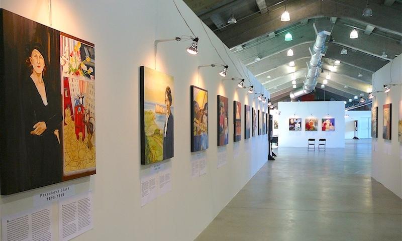 Exposition L'Art est un Miroir à Saguenay en 2010