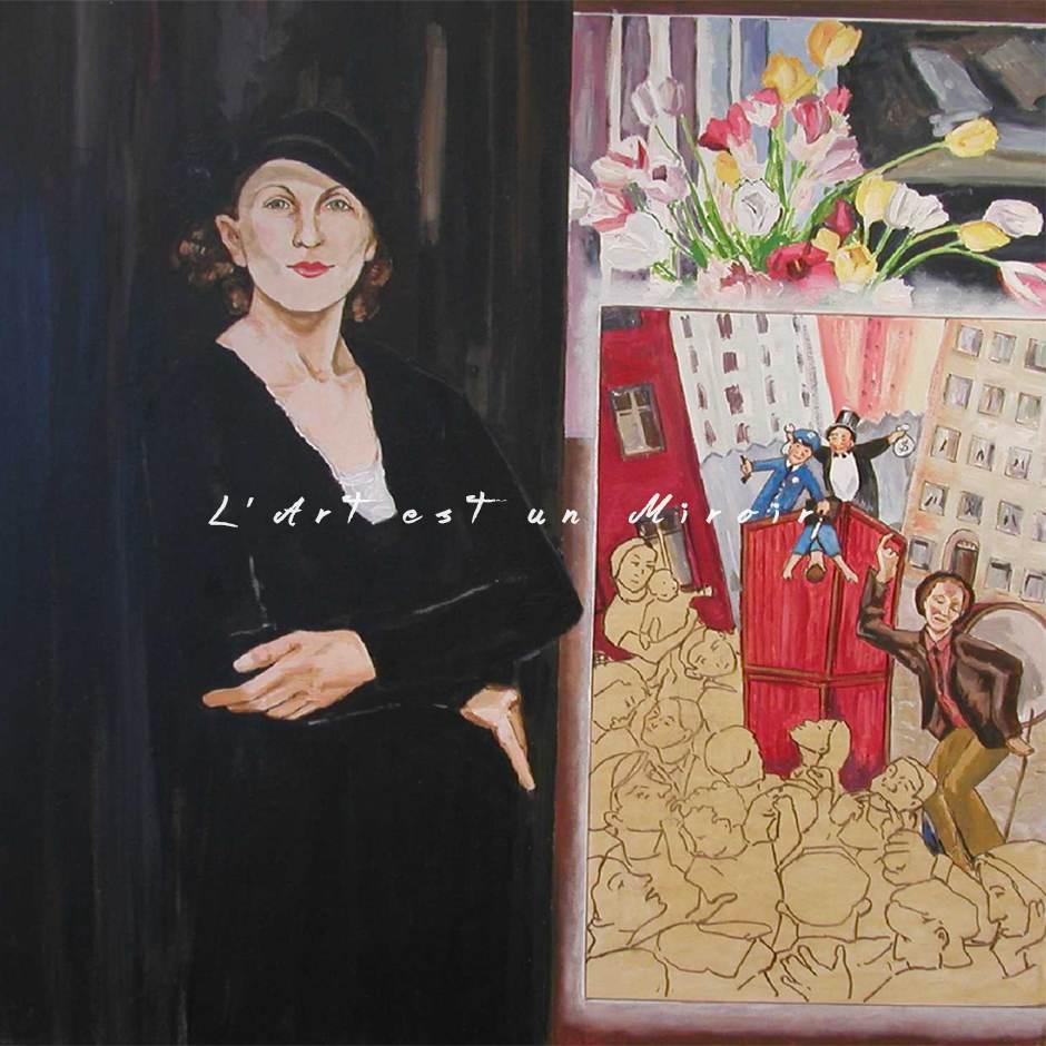 Paraskeva Clark selon Jérémie Giles – Collection L'ART EST UN MIROIR