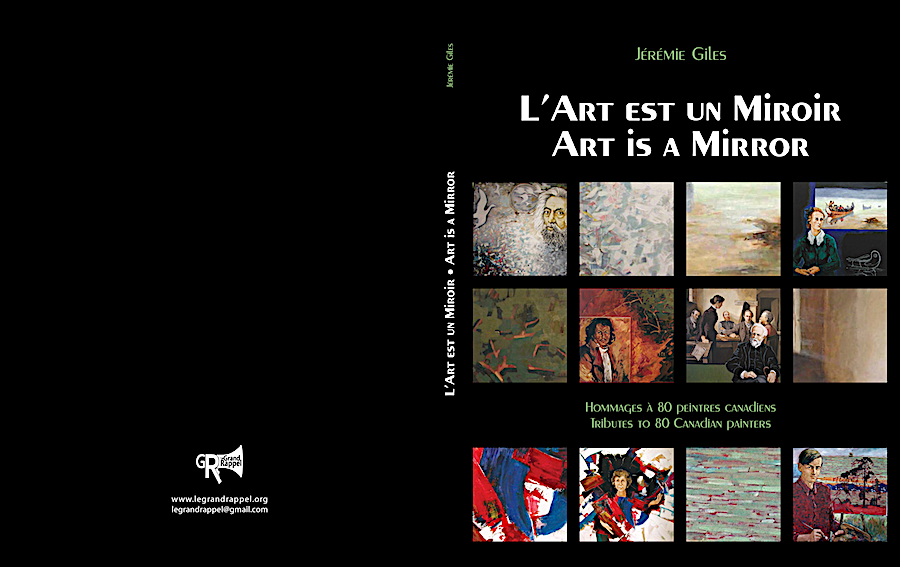Album souvenir de la collection l'Art est un Miroir de Jérémie Giles