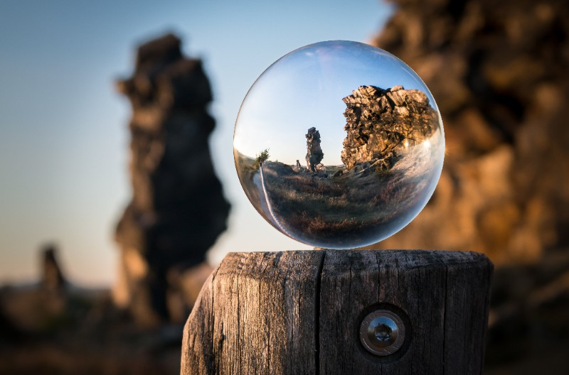 View employee hires through a crystal ball