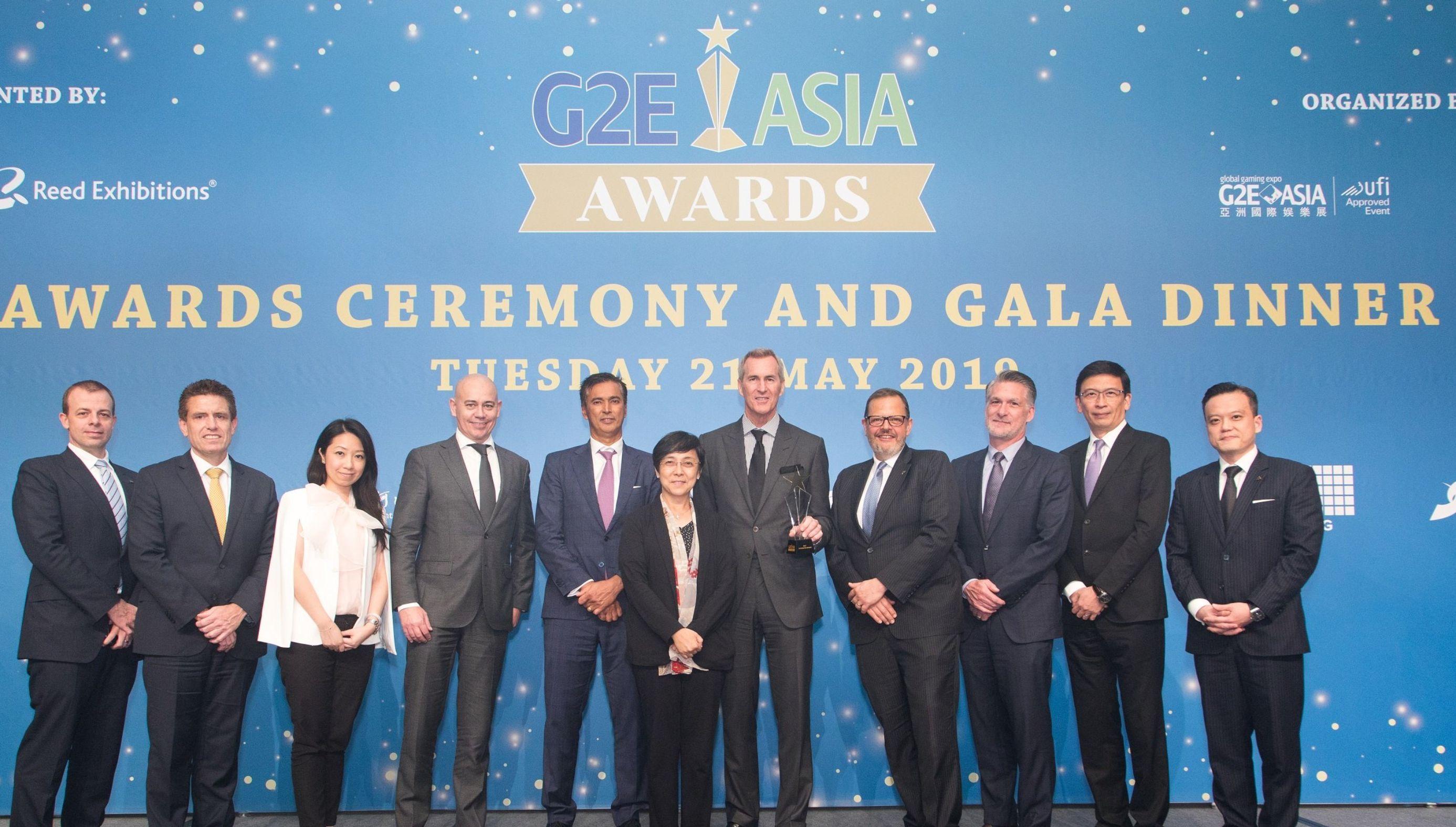 G2E ASIA AWARDS