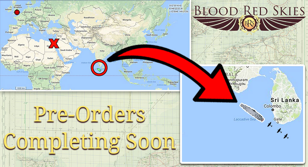 Blood Red Skies Pre-Orders Shipment Tracking