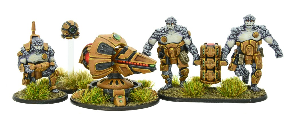 New Gates of Antares Boromite Specialist Support Team with Plasma Cannon