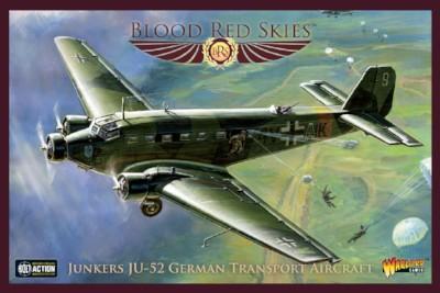 New Blood Red Skies German Junkers JU-52 Transport