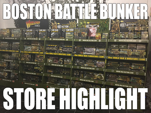 Boston Battle Bunker Store Highlight