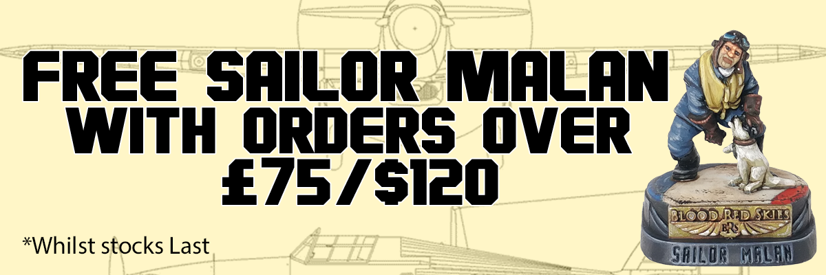 Free Sailor Malan with Orders Over £75/$120