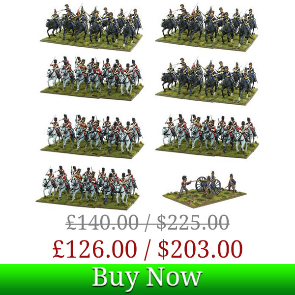 Black Powder Waterloo French Heavy Cavalry Army Deal