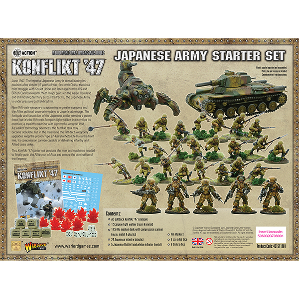 Japanese Starter Army