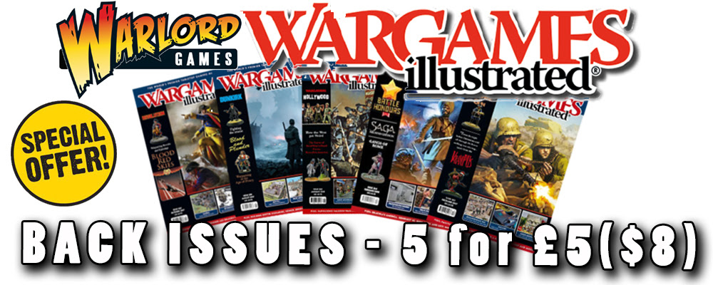 Wargames Illustrated back Issues - 5 for £5/$8
