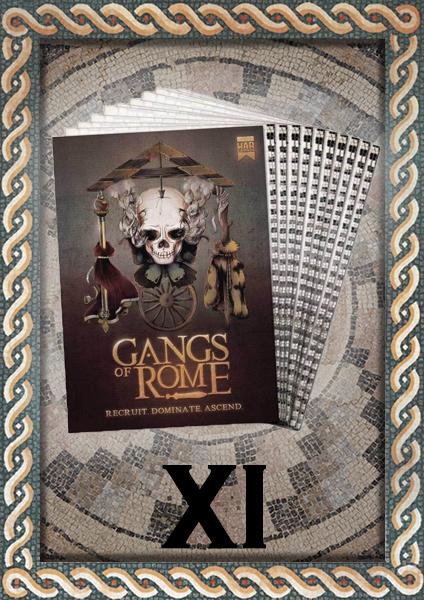 Gangs of Rome printed Rulebook