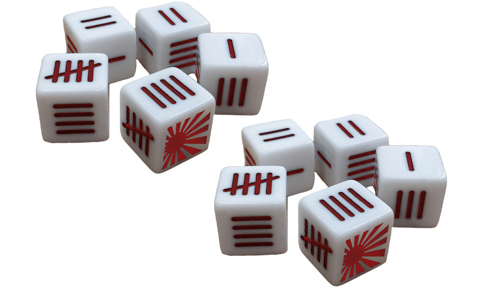 New Blood Red Skies Dice Pack Japanese