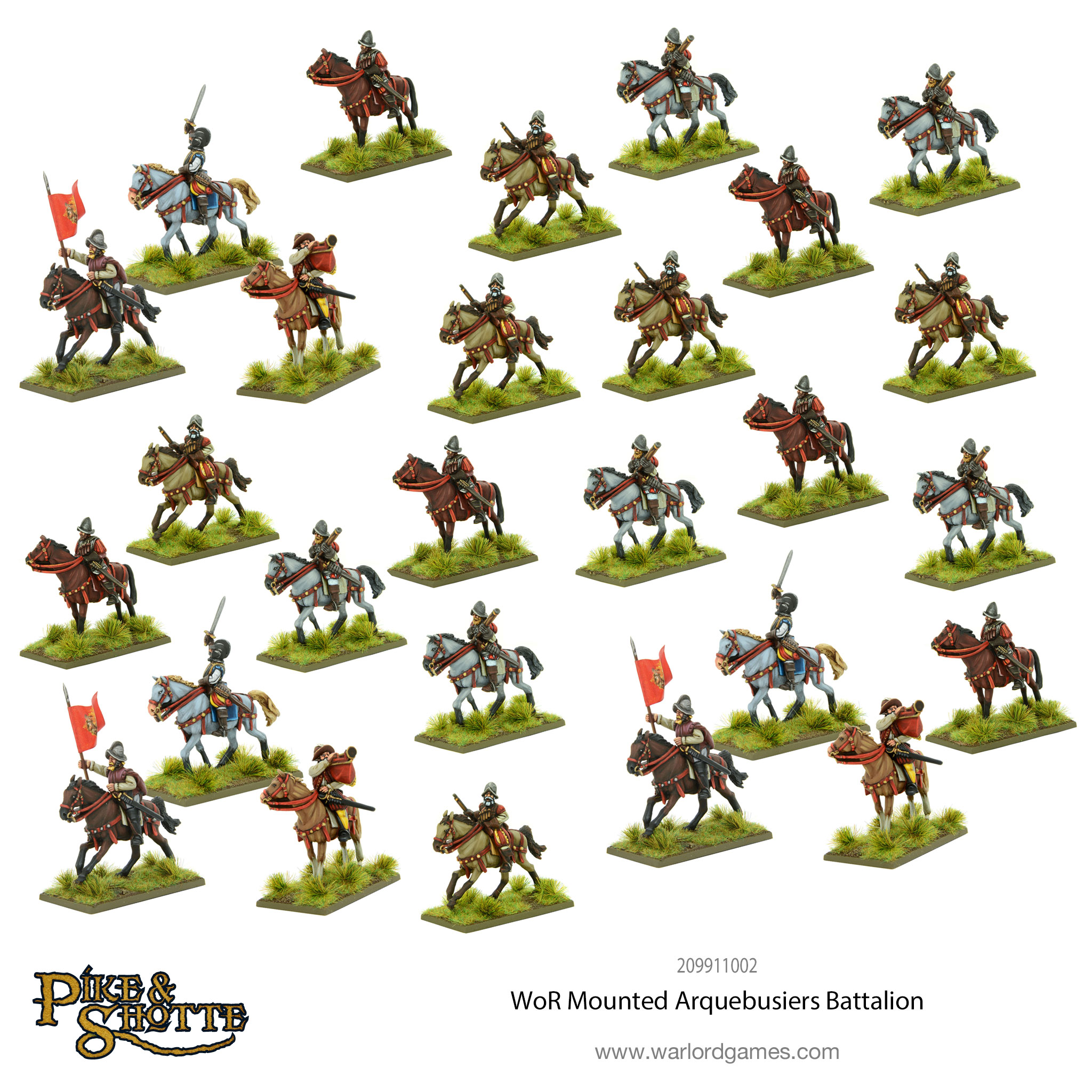 wars of religion mounted arquebusiers battalion