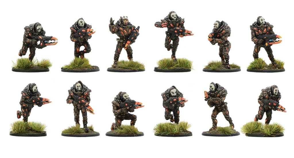New Beyond the Gates of Antares Isorian Phase Squad