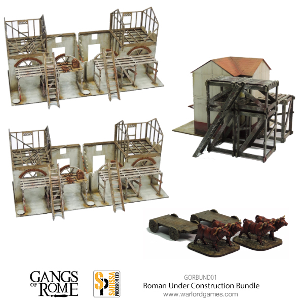 Gangs of Rome Rome Under Construction Bundle