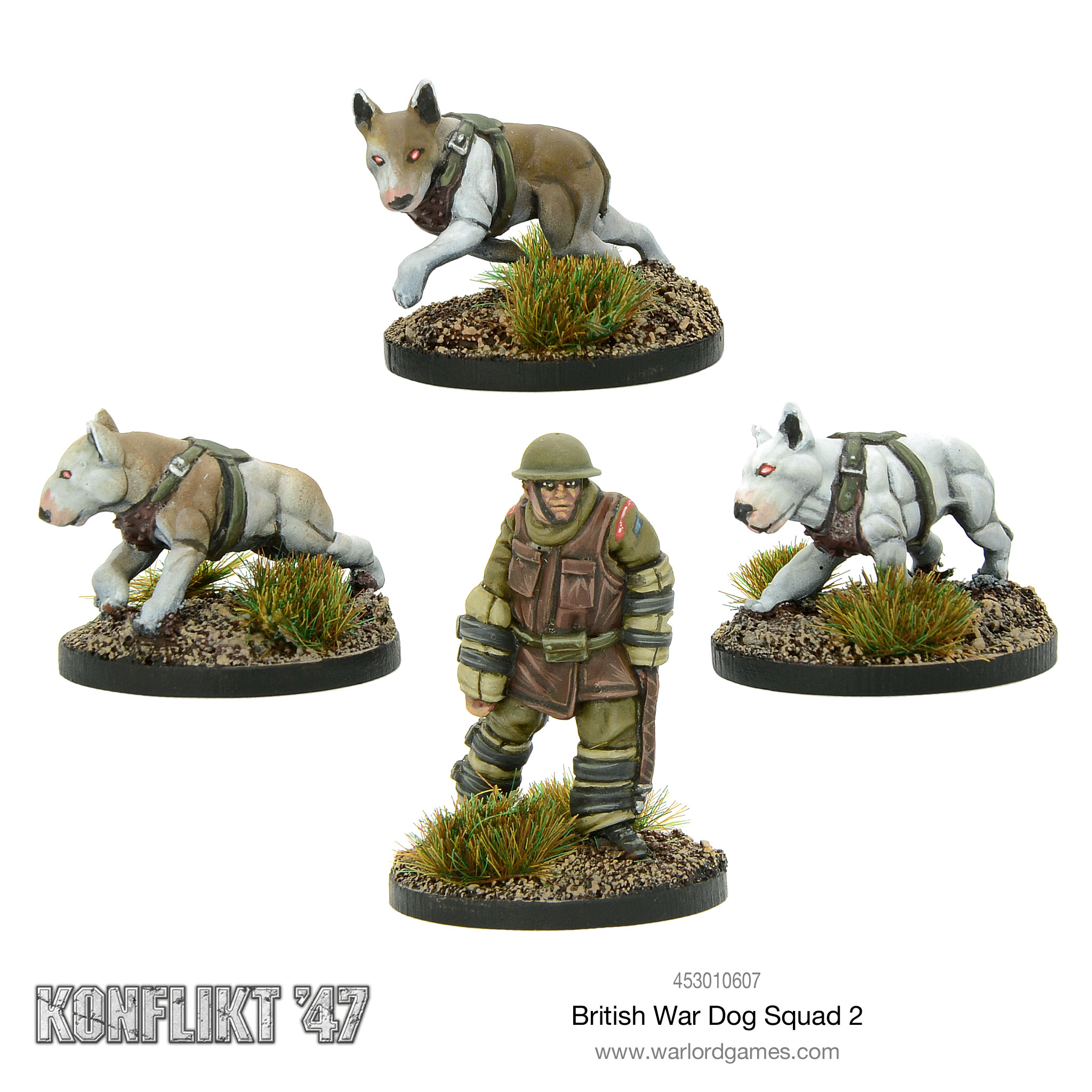 British War Dog Squad 2 for Konflikt'47