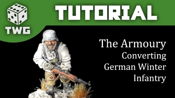 The Armoury: Converting German Winter Winter Infantry