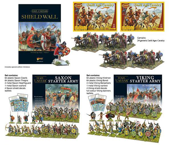 Coming Soon Hail Caesar Shield Wall Complete Bundle