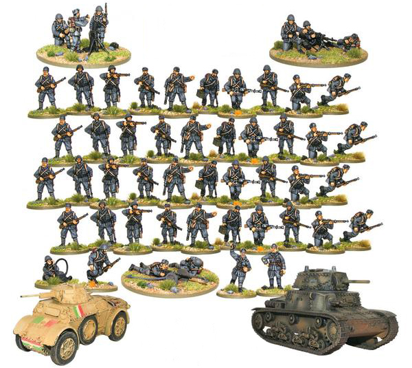 Bolt Action Italian 1000 Point Army