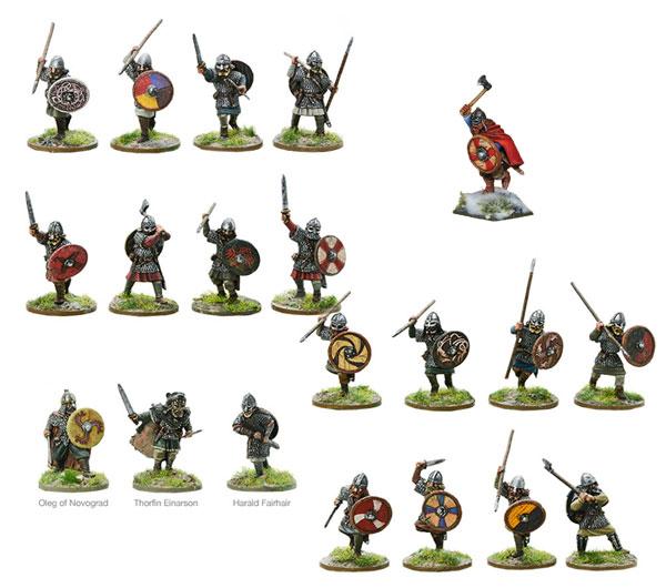 Models of Hail Caesar Viking Bundle