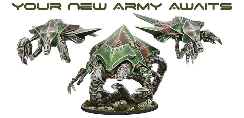 New Beyond the Gates of Antares Virai Starter Army