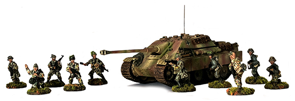 Bolt Action German Waffen SS Jagdpanther Showcase Banner
