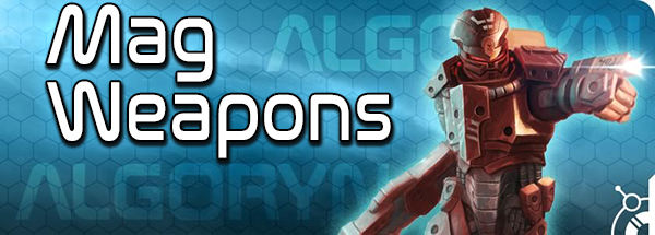 Algoryn Mag Weapons