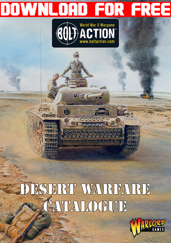 Bolt Action Desert Warfare Catalogue