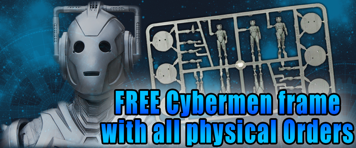 FREE Cyberman Offer in store with every physical order