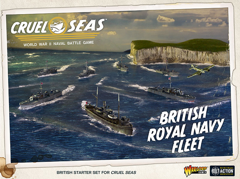 Pre-order Cruel Seas British Royal Navy Fleet