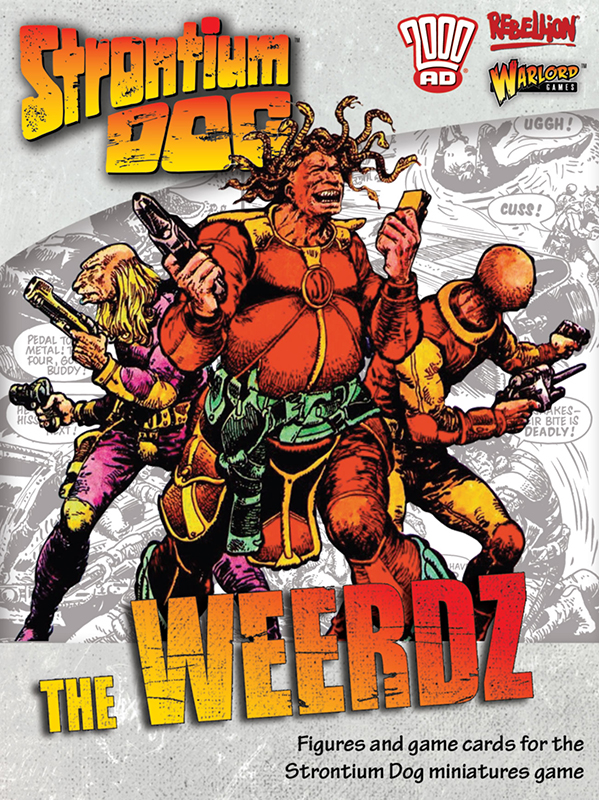 New Strontium Dog The Weerds Box