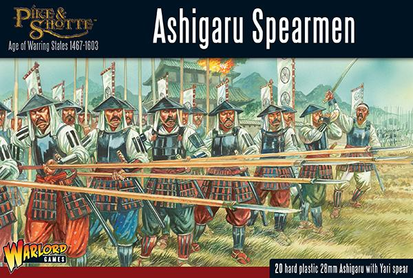 Pike & Shotte Ashigaru Spearmen