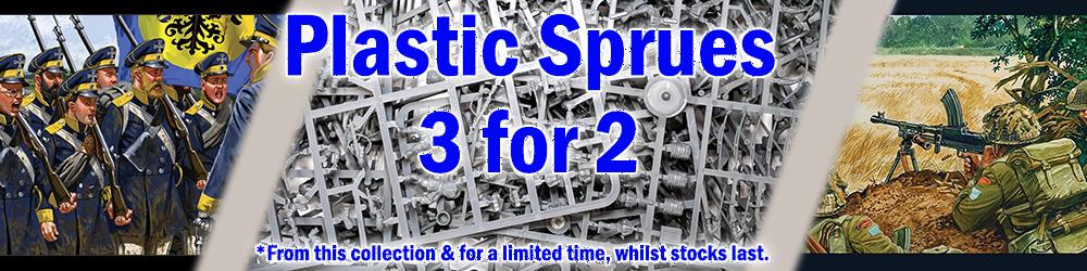 3 for 2 Sprue Deal Banner