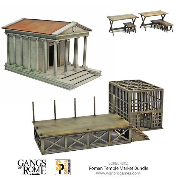 Gangs of Rome Rome Temple Market Bundle