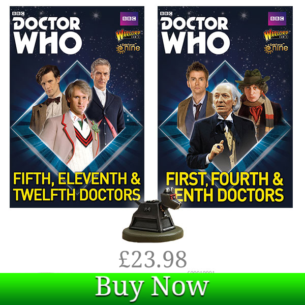 Doctor Who K-9 Bundle