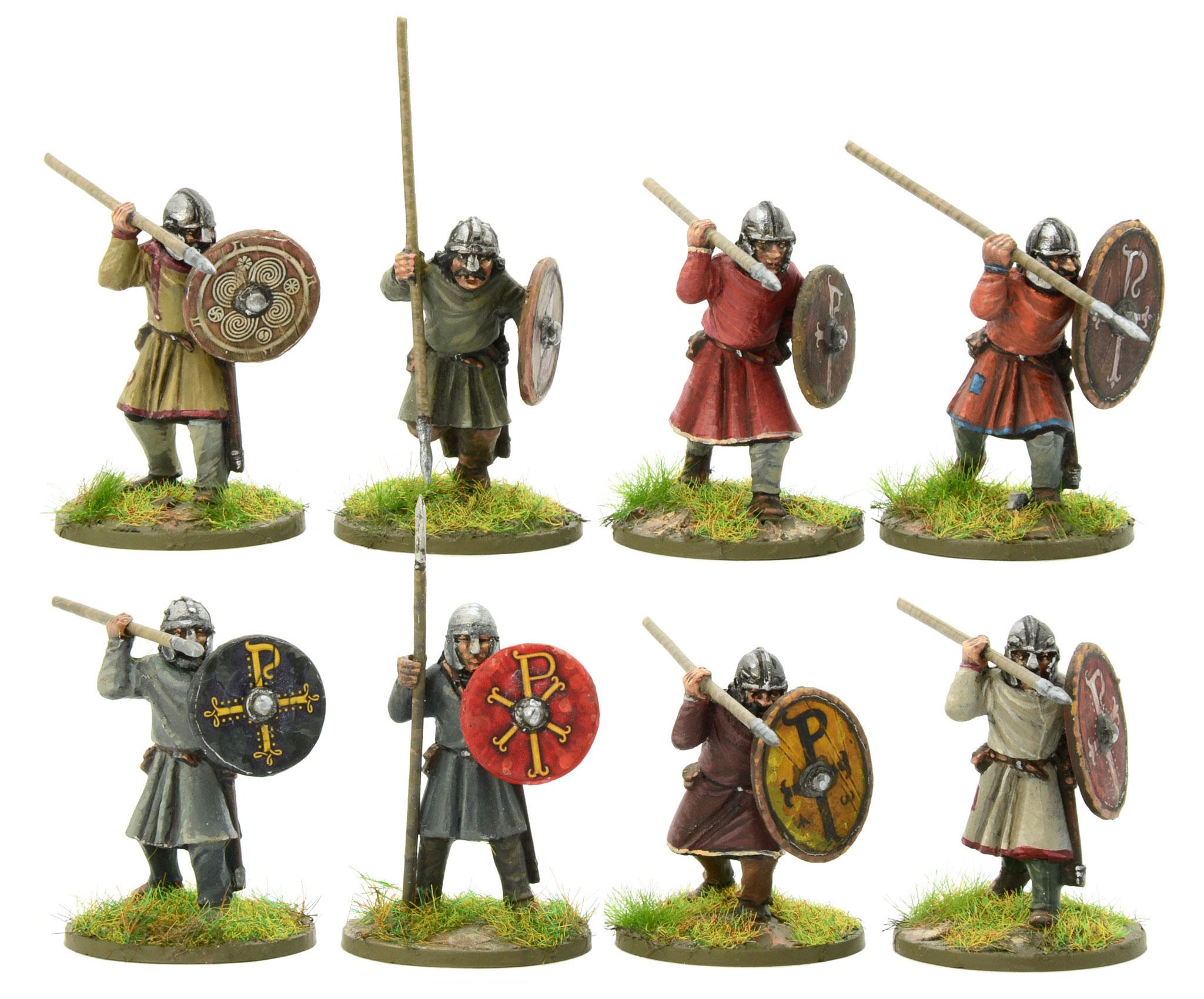 New Hail Caesar Arthurian Romano British Unarmoured Infantry
