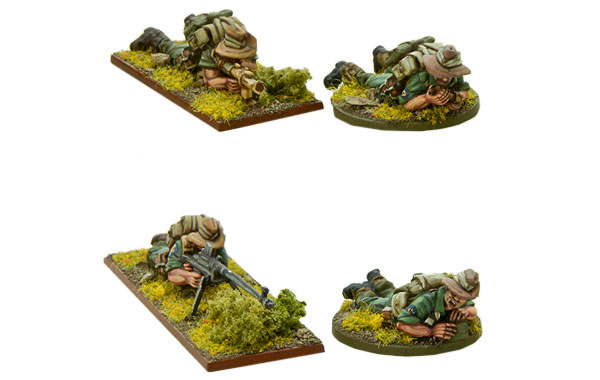 Bolt Action British Chindit PIAT & AT Teams