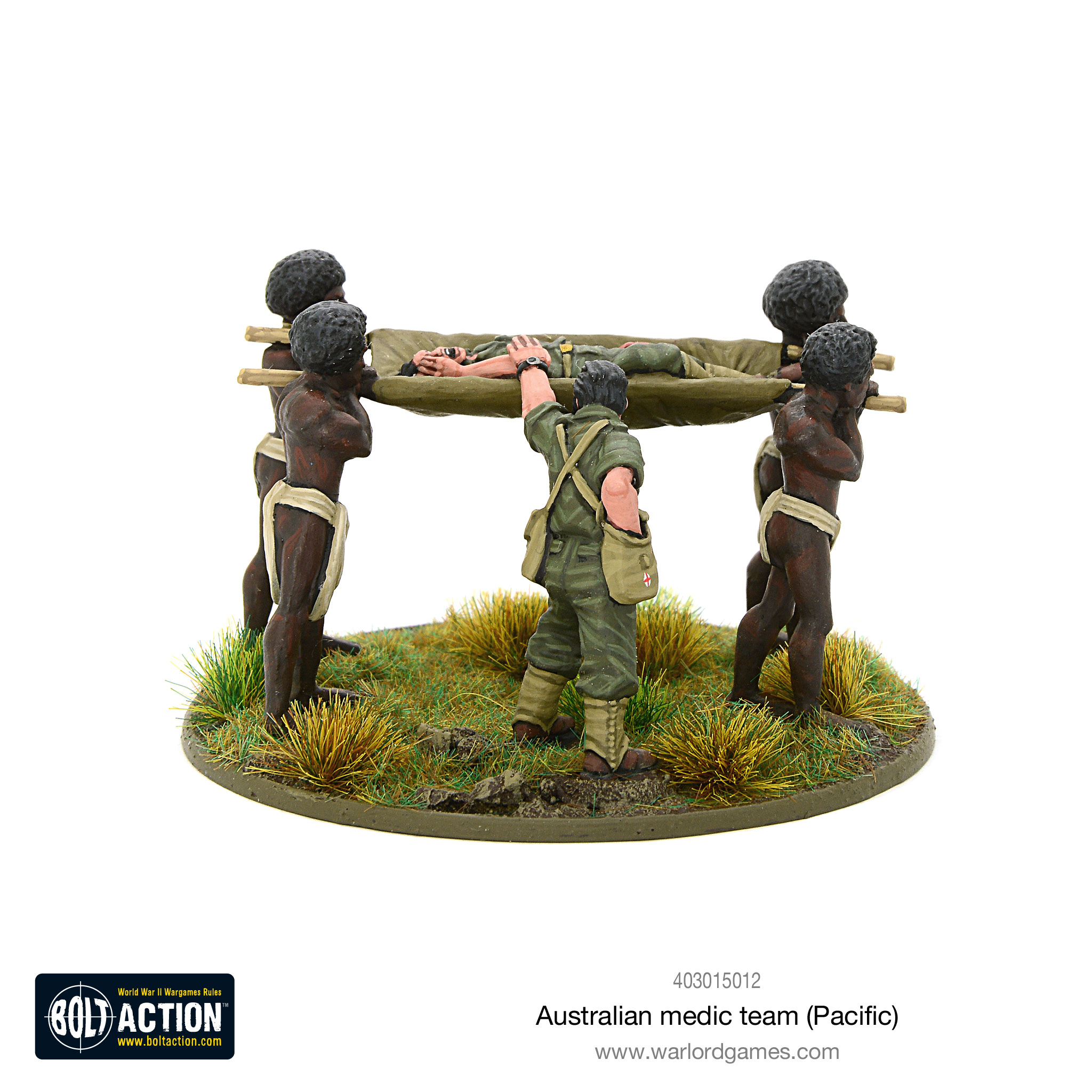 Coming Soon Bolt Action Australian Medic Team