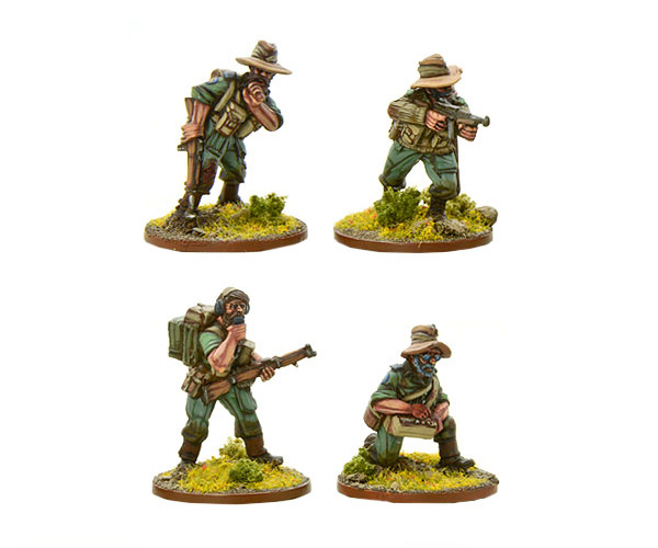 Bolt Action British Chindit HQ
