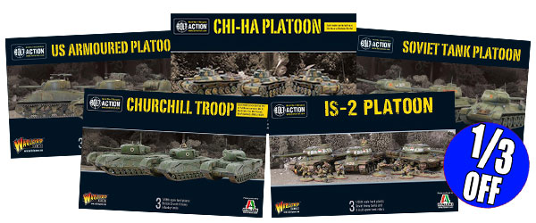 Tank Platoon 1/3 off deal