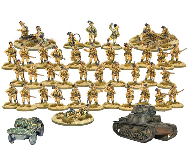 Bolt Action Italian Bersaglieri 1000 Point Army