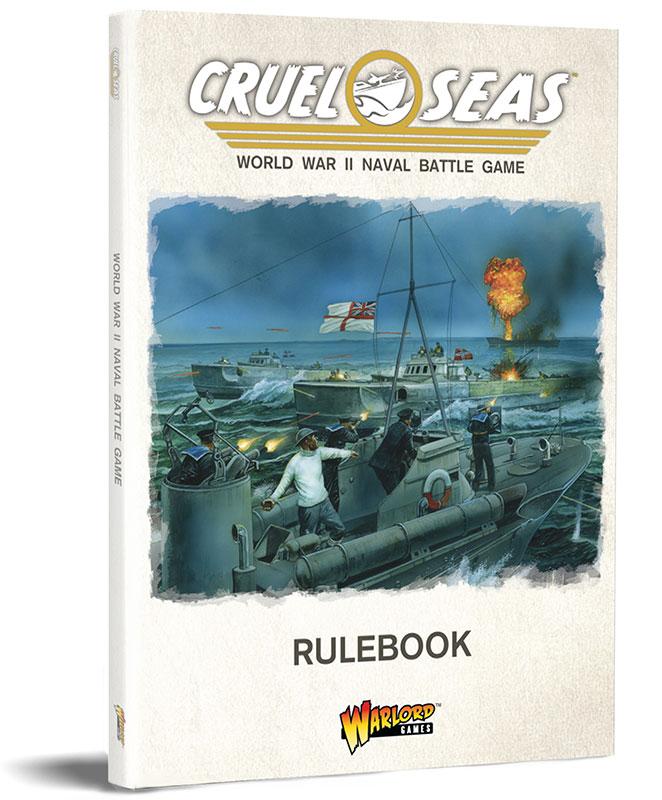 Pre-order Cruel Seas Standard Edition  Rulebook