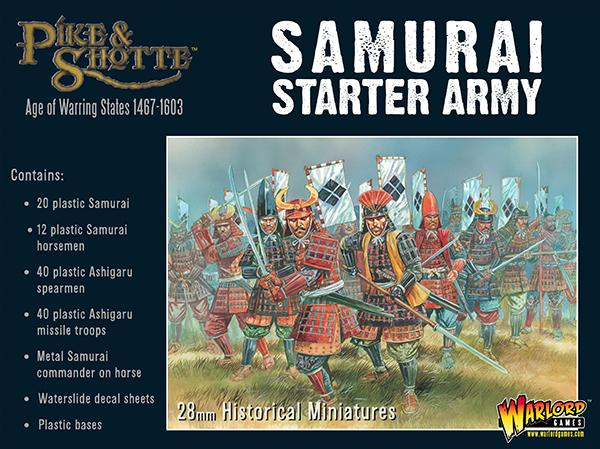 Pike & Shotte Samurai Starter Army Box