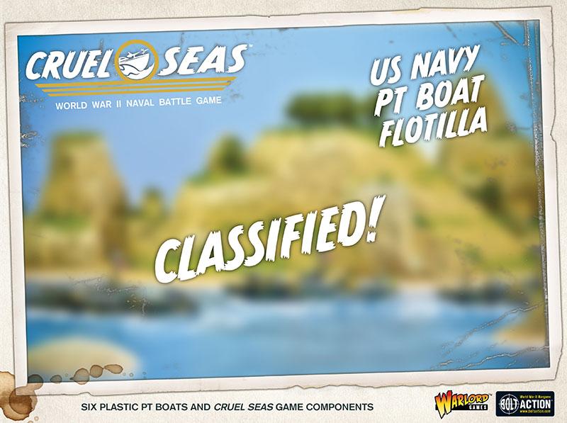 Pre-order Cruel Seas US Navy PT Boats Flotilla