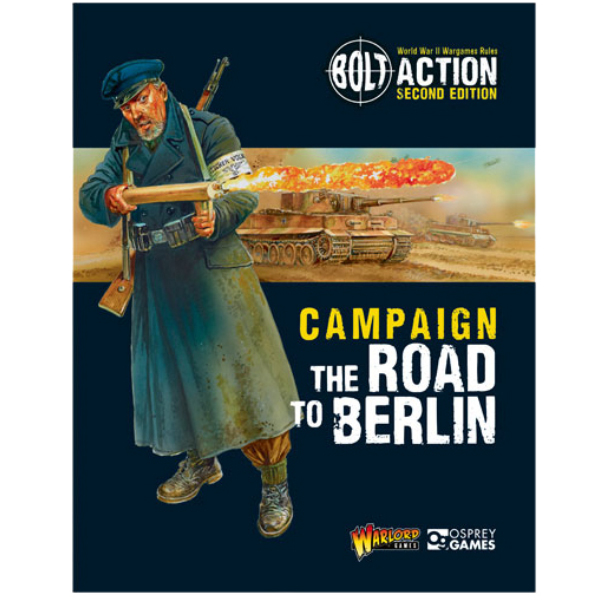 Road to Berlin Campaign book